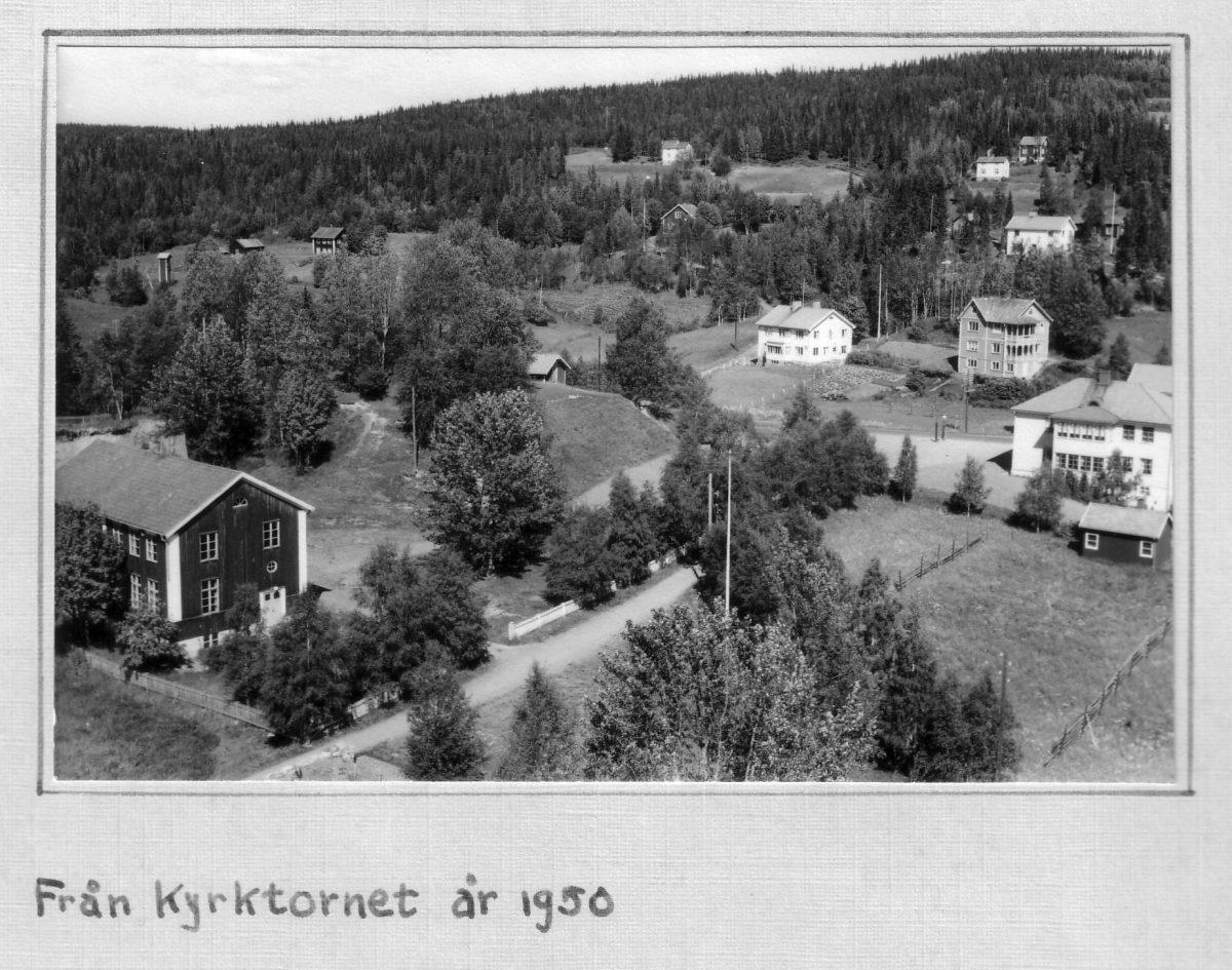 S.44 Från kyrktornet 1950 Bild 1