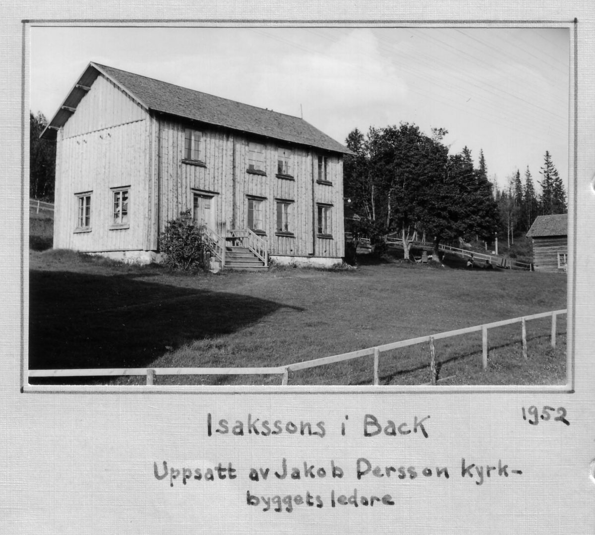 S.49 Isakssons i Back 1952