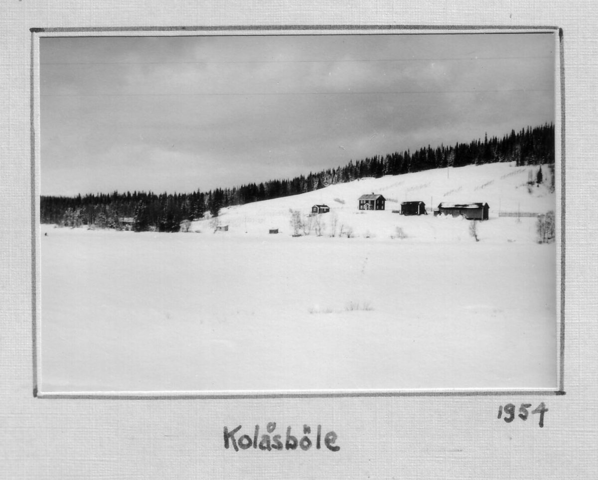 S.53 Kolåsböle 1954