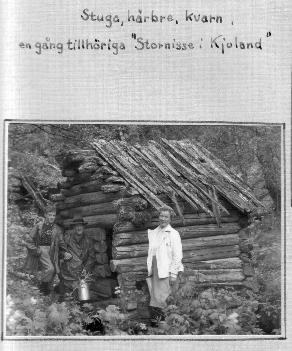 S.64 Stornisses stuga i Kjoland Bild 1