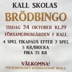 Brödbingo Kall 24 oktober