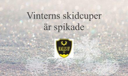 Vinterns skidcuper är bokade