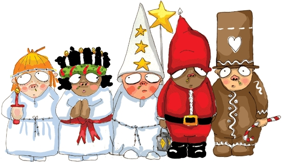 Luciafirande Kyrkslättens Skola 12 december
